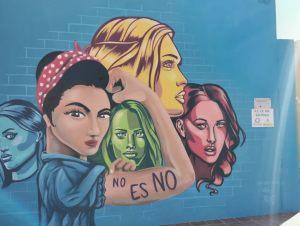 Grafitti contra la Violencia de Género